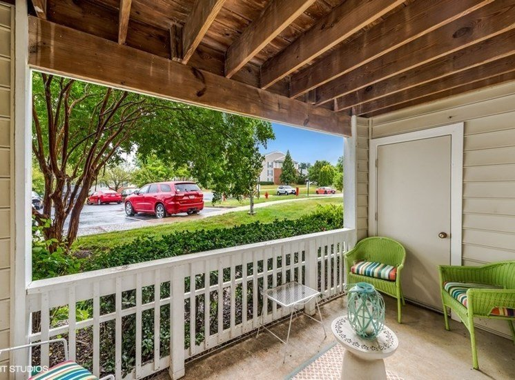 Large Private Patios & Balconies at Brittany Commons Apartments, Spotsylvania, VA